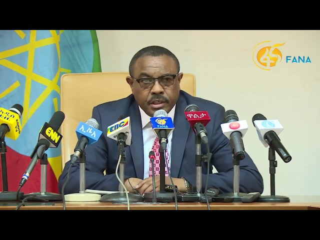 21 Things Haile Mariam Desalegn Said During His News Conference
