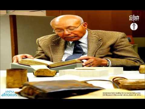 Atronus: Ethiopian Christmas with Proffessor Getachew Haile