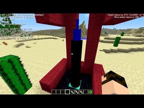 Minecraft! Mas Explosivos plus, bombas nucleares y misiles!!!!