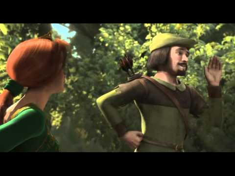 Shrek - (Swedish)The Robin Hood Song