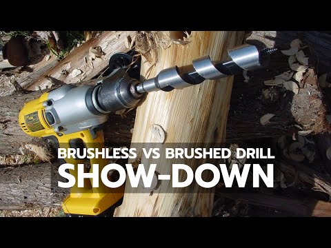 Brushless versus Brushed Drill Show-Down