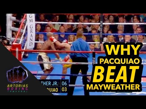 Why Pacquiao Won Mayweather (Landed Punches Count at 60 FPS)