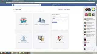 How to create facebook page Easy Easy  2017