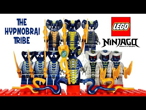 LEGO® Ninjago Rise of the Snakes Hypnobrai Tribe Serpentine Minifigure Collection
