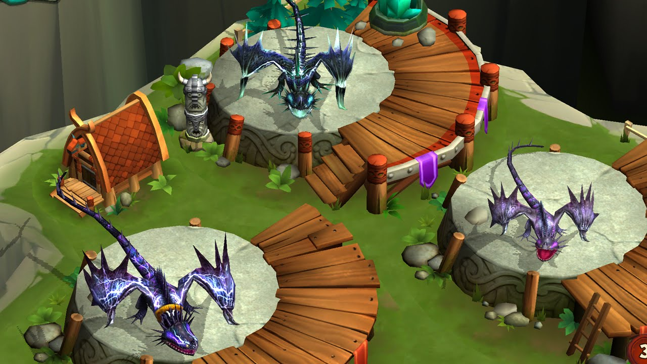 Dragons Rise of Berk Titan Scauldron Dragons Rise of Berk Skrill