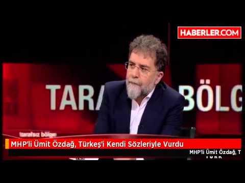 MHP'li Ümit Özdağ, Türkeş'i Kendi Sözleriyle Vurdu