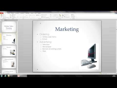 MS Office PowerPoint - JCCC Technical Training