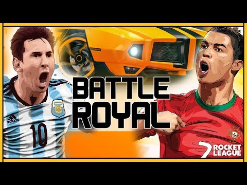 ROCKET LEAGUE FR | NOTRE PLUS GROS PROJET : BATTLE ROYAL !!??