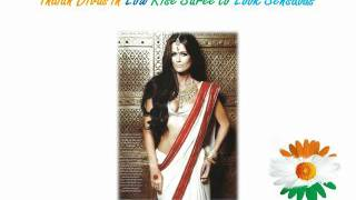 Different Types of  Low Rise Saree Fashion Trends - How to Tutorial