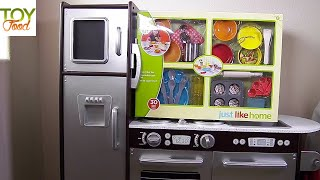 Just Like Home Super Chef Playset and Kidskraft Kitchen Toys