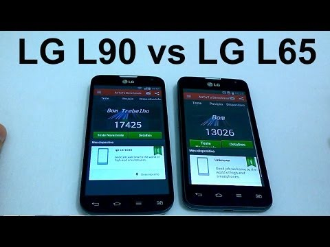 LG L90 vs LG L65 Comparativo (Pt-Br)