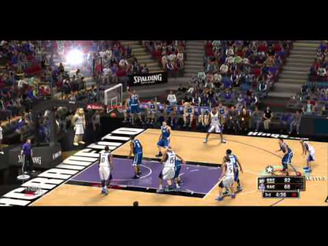 Thunder at Kings (NBA 2K13)