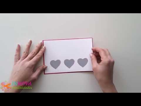 Manualidades para San Valentín ♥ Tarjeta RASCA tu REGALO ♥ (raspa y gana) - Innova Manualidades