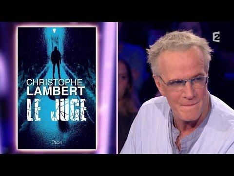 Christophe Lambert - On n'est pas couché 27 juin 2015 #ONPC