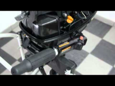 Coleman 5hp Outboard Motor setup