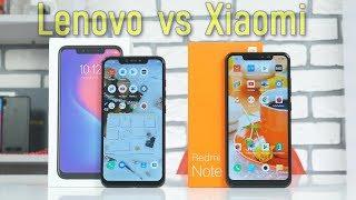 Lenovo наехал на Xiaomi! Сравнение Lenovo S5 Pro и Xiaomi Redmi Note 6 Pro.