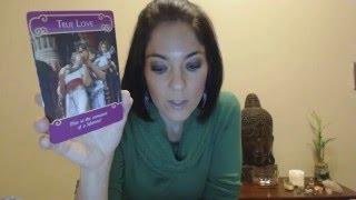 Cancer March 2016 LOVE romance angel oracle card reading