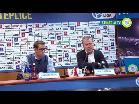 Tisková konference hostujícího týmu po utkání Teplice - Sparta Praha (31.3.2018)