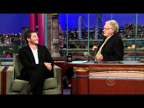 Jake Gyllenhaal on Letterman (11/17/10) - HD - Part 1/2