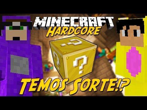 Minecraft Hardcore 2: Sorte Lançada! #1 (lucky Block Mod) video