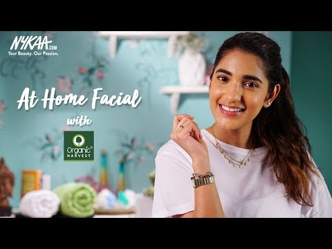 How To Do A Step - By - Step Facial At Home | Fresh, Radiant Skin with Organic Harvest