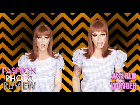 RuPauls Drag Race Fashion Photo RuView with Raven & Morgan McMichaels...