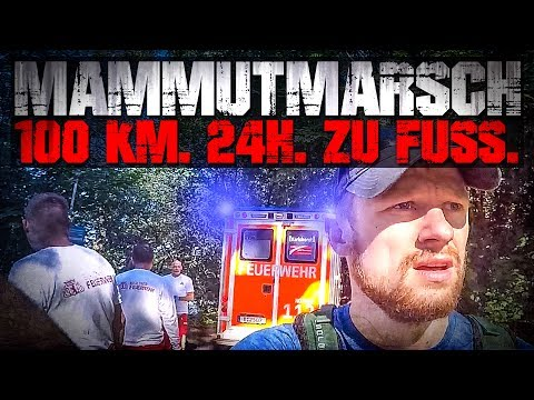 GAME OVER!!! 100 KM 24H ZU FUSS - Mammutmarsch 2017 | Fritz Meinecke streaming vf