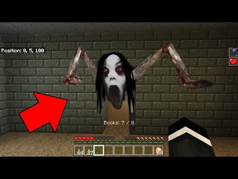 Slendrina Horror Game in Minecraft at 3:00 AM (Scary Minecraft Map)
