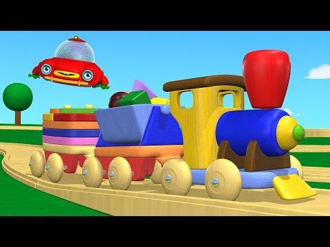 TuTiTu (ТуТиТу) Игрушки | Деревянный паровозик