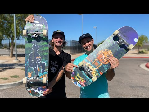SNEAK PEEK VX EVERSLICK WITH HENRY GARTLAND! Product Challenge   Santa Cruz Skateboards