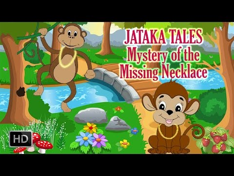 Jataka Tales - Mystery Of The Missing Necklace - Short Stories For Kids - Animated   Cartoon Stories video