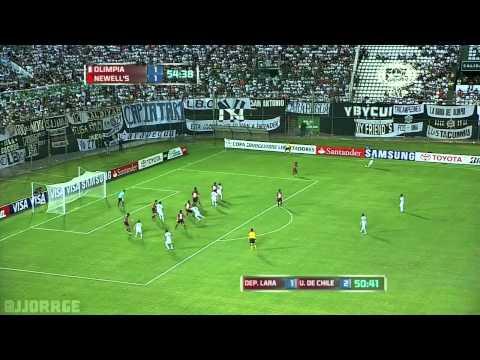 [HD] Olimpia 4-1 Newell's. Goles. Libertadores 11/04/2013