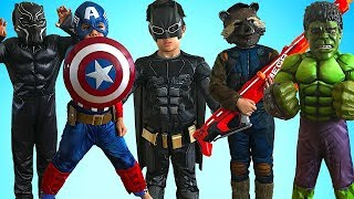 KIDS COSTUME RUNWAY SHOW Superheroes Marvel DC Disney Dress Up Fun With TBTFUNTV