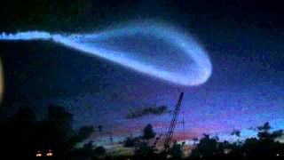 UFO or Huge Missel or Meteor in The Sky of West Palm Beach - South Florida