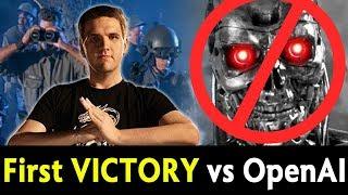 First true WIN vs OpenAI — humanity victory thx to Black!
