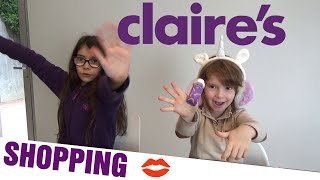 Shopping claire's