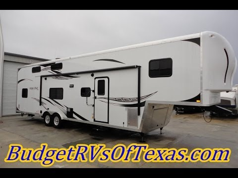 Super Spacious 2014 Work And Play 38ft 5th Wheel Toy Hauler! Sleeps 10+