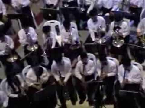 Magnificent Seven Theme - by The Salesian Band  Sang Thong Wittaya Had Yai