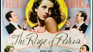 LA SENSACION DE PARIS (THE RAGE OF PARIS, 1938, Full movie, Spanish, Cinetel)