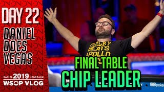 STUD Final Table CHIP LEADER! - 2019 WSOP DAY 22