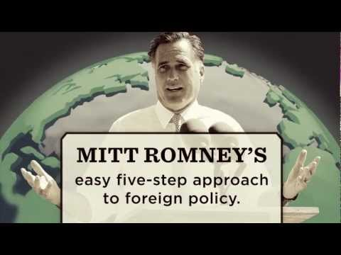 Mitt Romney's Easy Five-Step Approach to Foreign Policy