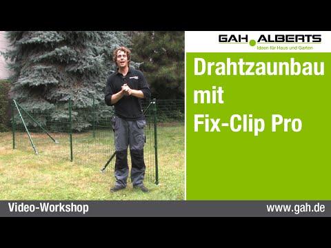 GAH Alberts Workshop - Zaunbau Mit Fix-Clip Pro, Im Flachland Und Am Hang