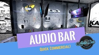 Audio Bar OC | New EDM & Hip Hop Music Inspired Bar - Crowdfunding Commercial