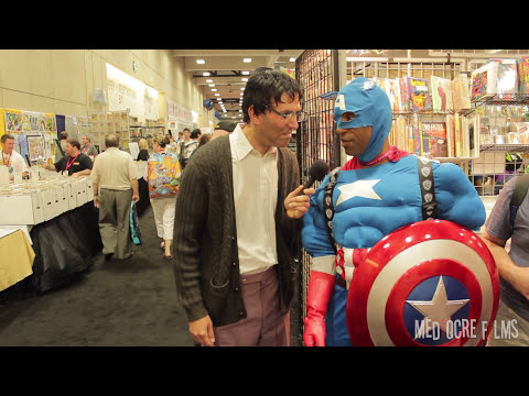 Trolling Cosplayers at Comic-Con 2014 (with Yeshmin Blechin)