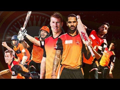 Vivo IPL9 2016 : Sunrisers Hyderabad's Team Squad   IPL 2016   Cricket Fan Club