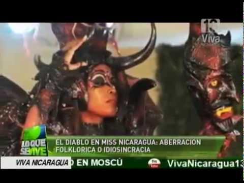 El Diablo en Miss Nicaragua  ¿Aberración folclórica o idiosincracia?