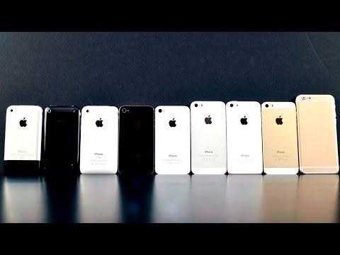 СРАВНЕНИЕ ВСЕХ iPhone