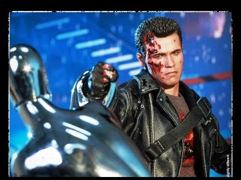 Hot Toys DX13 Sideshow Exclusive T2 Battle Damaged T800 Review (Part 2)