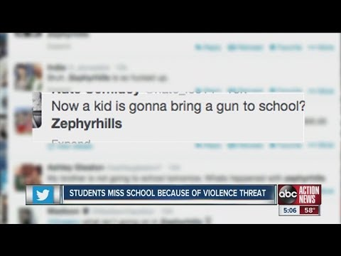 Hoax causes most of Zephyrhills High School students to stay home
