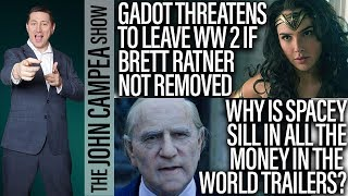 Wonder Woman 2 Could Lose Gal Gadot If Ratner Not Removed - The John Campea Show